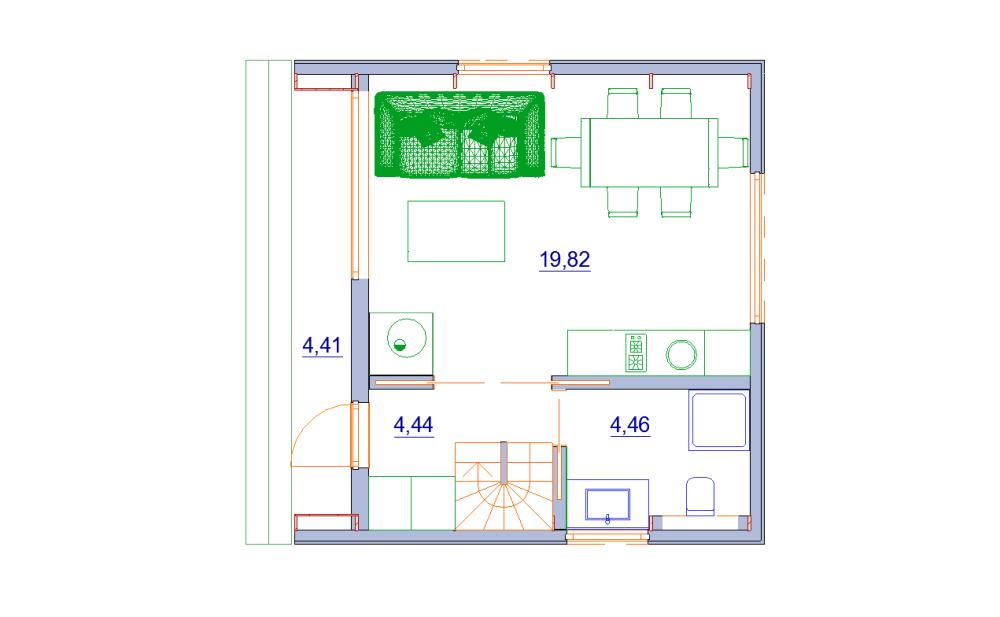 современный дачный дом