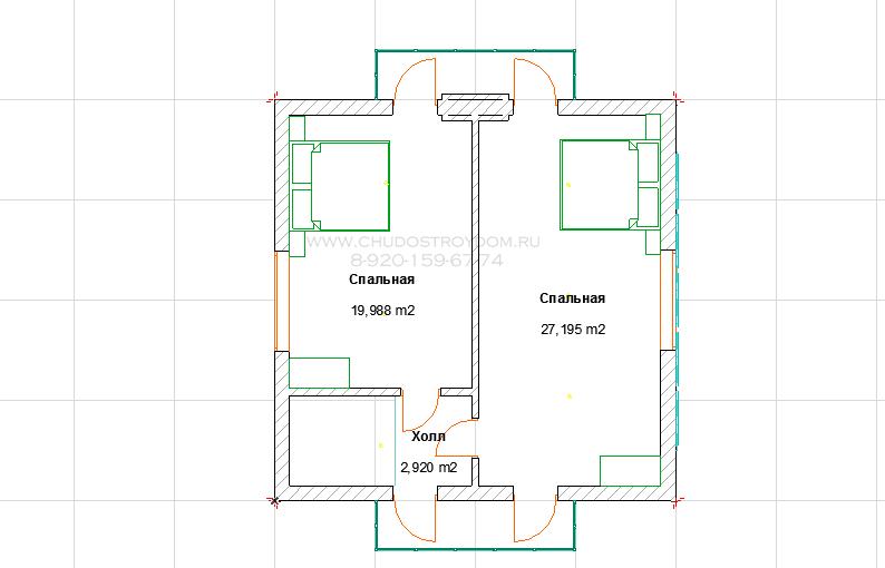 дом баня из бруса