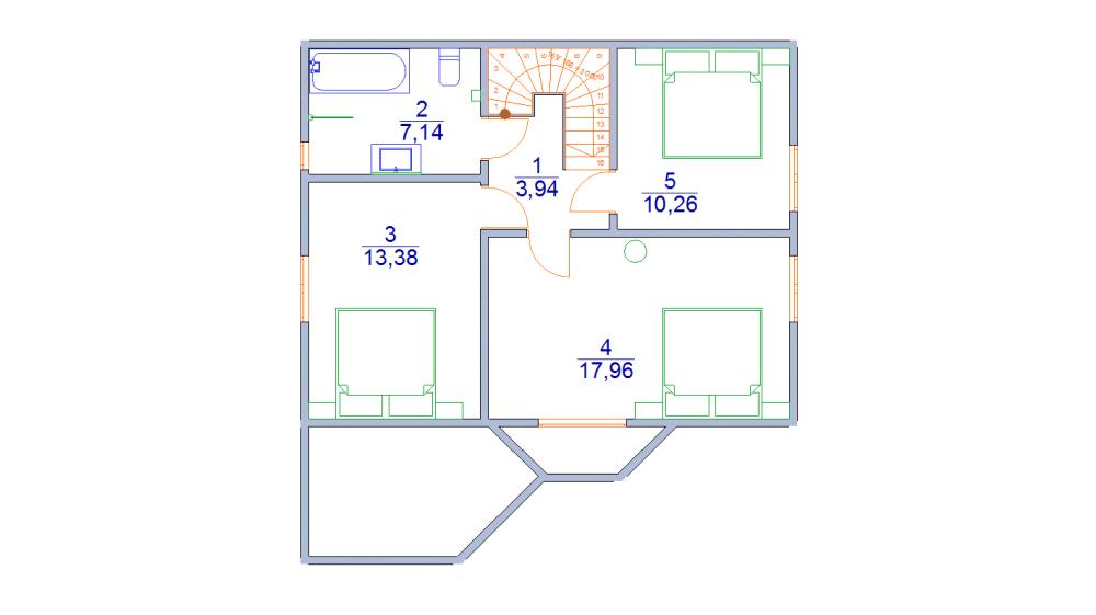 дом 7 х 9 из бруса
