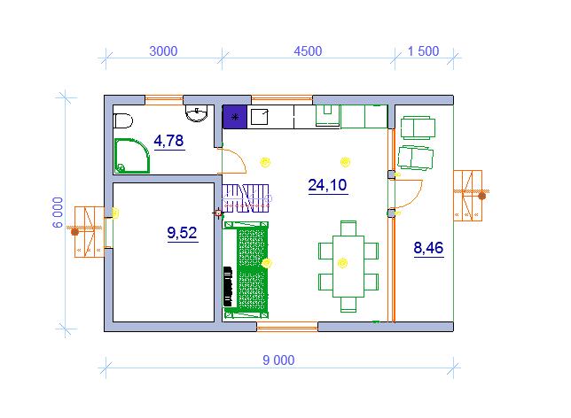дачный дом современный
