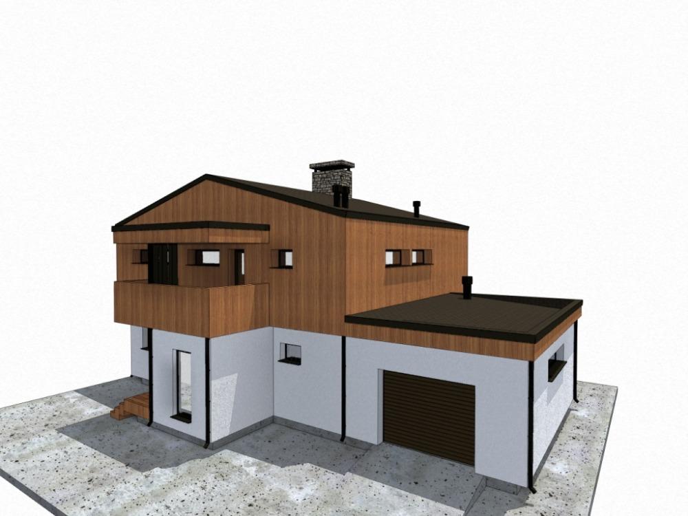 дом 17 х 10 под ключ минимализм