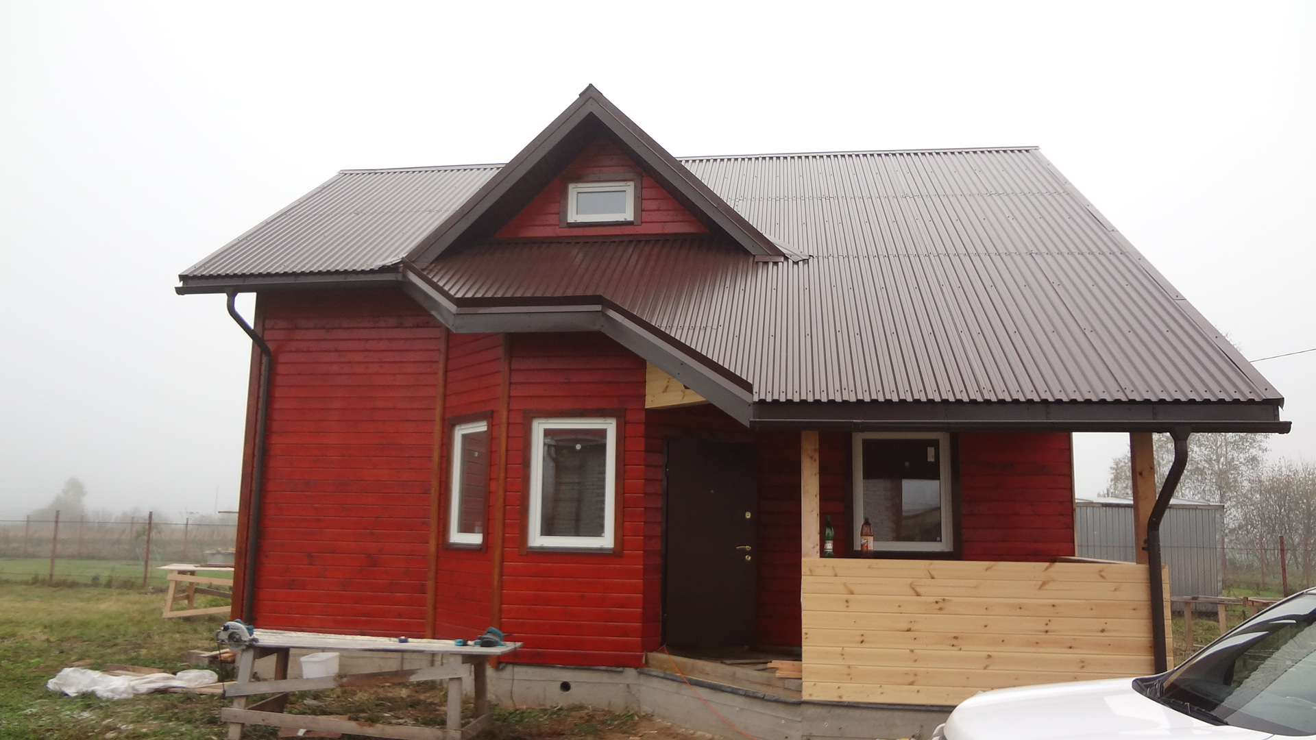 каркасный дом 7 х 9 под ключ