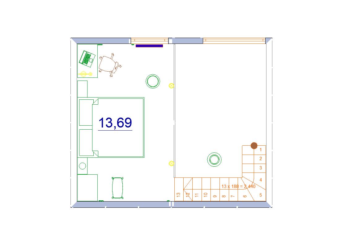 план 2 этаж дома бани