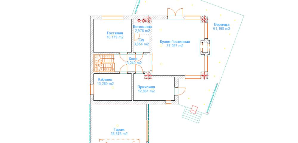 дом 10 х 14 под ключ