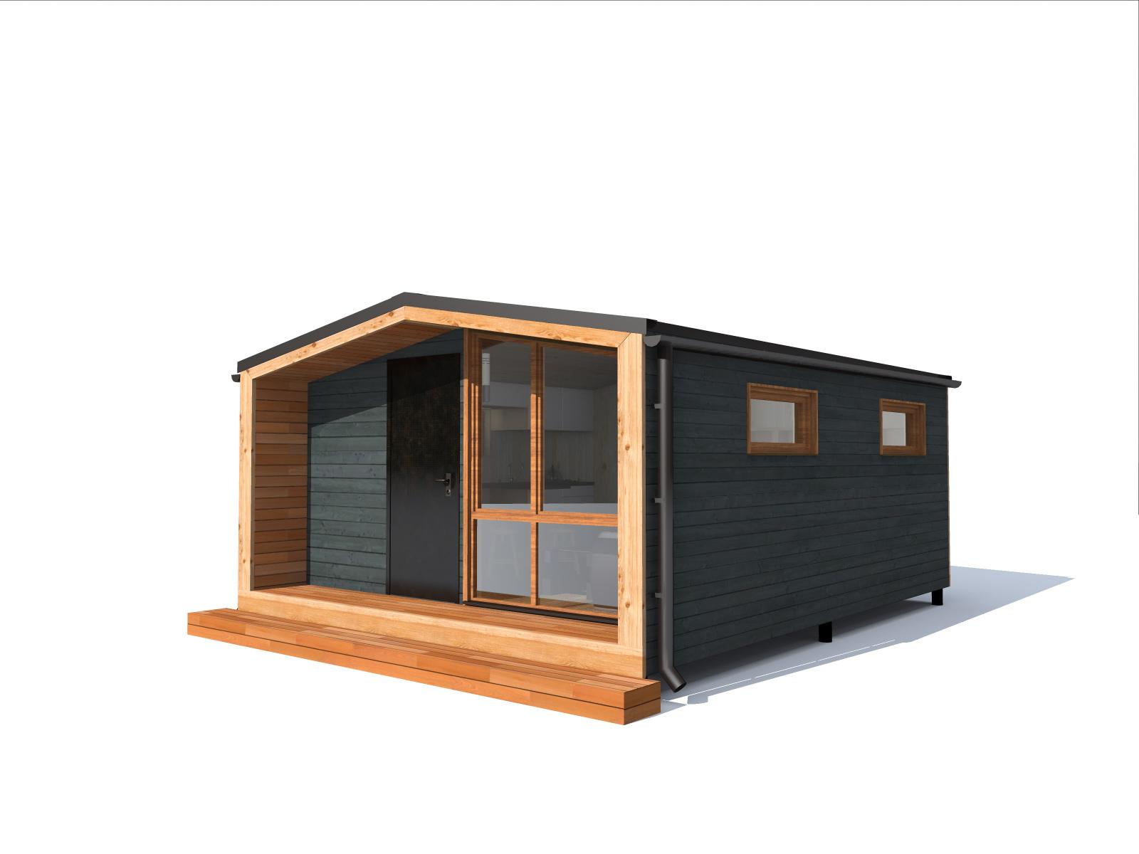 перевозной модульный дом