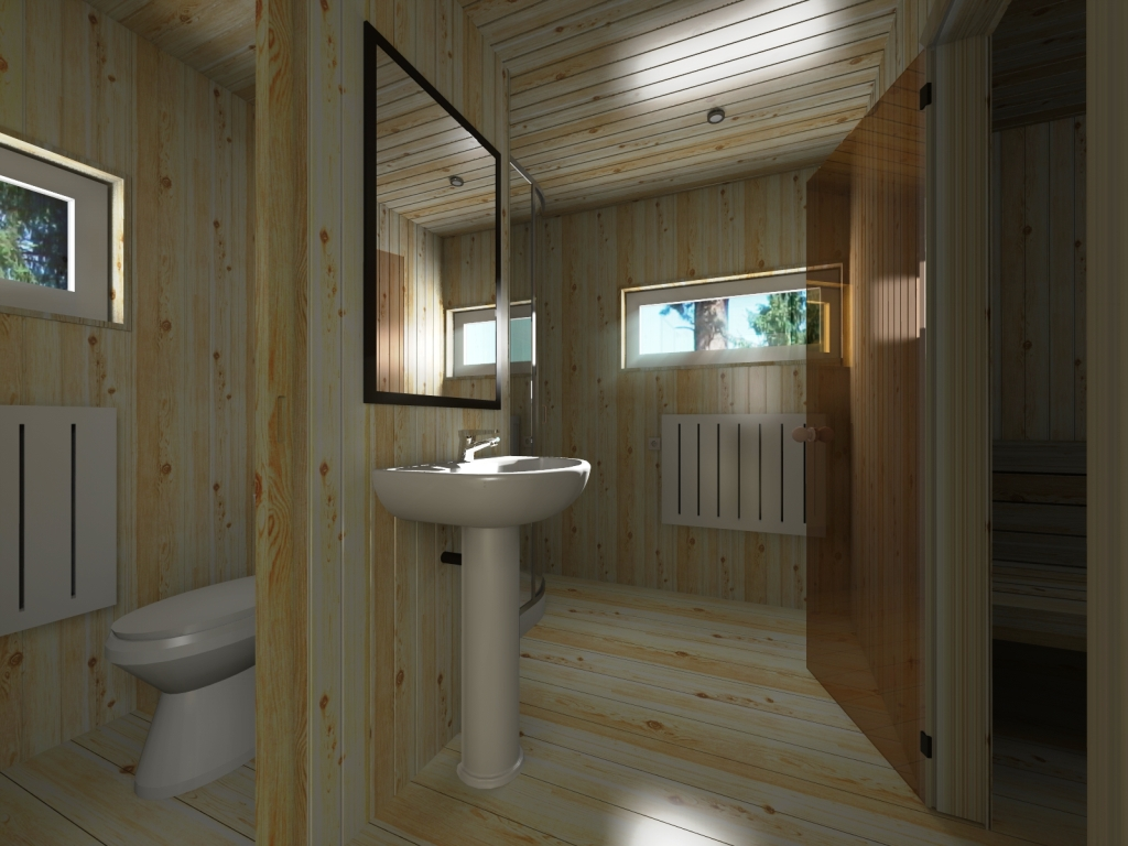 интерьер дома бани дмитров